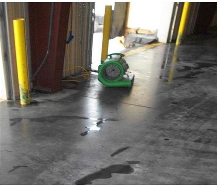 Stormwater Intrusion into a Depot Center in Twin Falls After