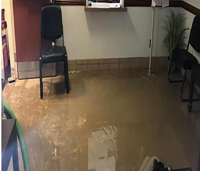 Commercial Water Damage Restoration In Twin Falls Before