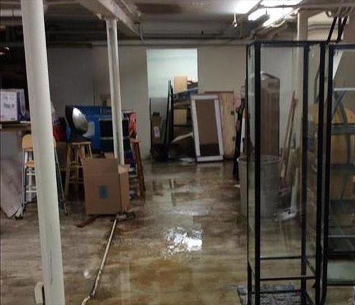 Commercial Water Damage in Twin Falls Before
