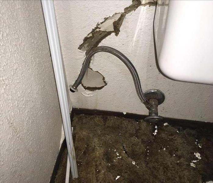 Water Damage Burst water supply line in Twin Falls